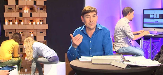Interaktiver Gottesdienst mit Pfarrer Rasmus Bertram
